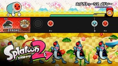 太鼓の達人 Nintendo Switchば~じょん!のゲーム内シーン