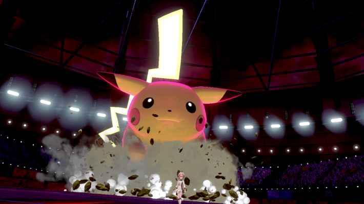 ポケットモンスター ソード・シールドのゲームプレイ画像
