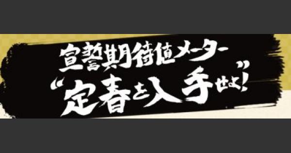 銀魂コラボ宣誓キャンペーンの参加方法と賞品一覧