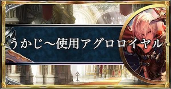 アンリミテッド2位!うかじ〜使用アグロロイヤル!