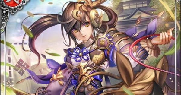 佐々成政SSR21の性能 | 棕櫚戦姫