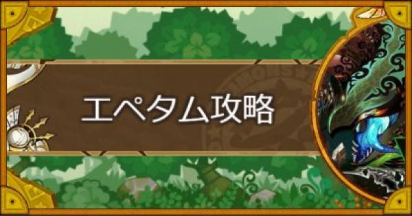 【神】レラチャシ(エペタム)攻略のおすすめモンスター
