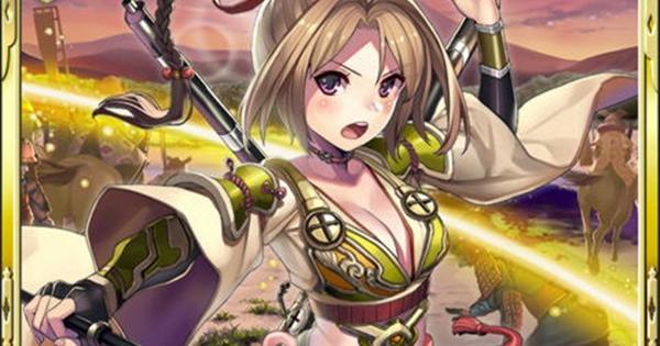 島津家久SR16の性能   機才戦姫