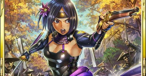 佐々成政SR17の性能 | 黒母衣猛姫