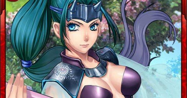 森可成N7の性能 | 勇烈なる女武者