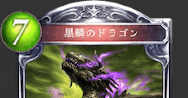 黒鱗のドラゴンの情報