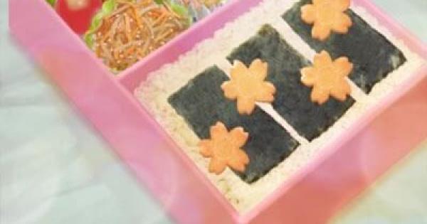 『桜の特製弁当』の評価