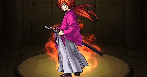 緋村剣心の最新評価!適正神殿とわくわくの実|るろ剣コラボ