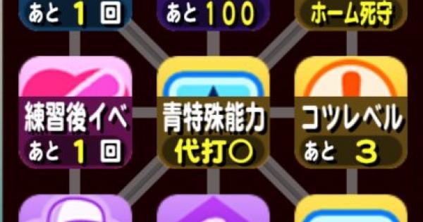 愛媛大会予選のビンゴカード一覧(1〜5枚目)|パワチャン