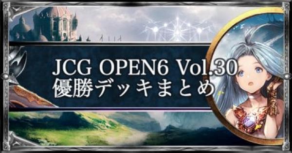 JCG OPEN6 Vol.30 ローテ大会優勝者デッキ紹介