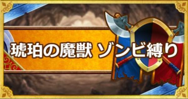 「呪われし魔宮」琥珀の魔獣をゾンビ系縛りで攻略!