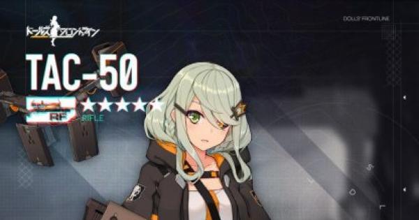 TAC-50の評価/レシピとスキン