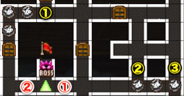 黒ウィズラビリンス2超高難度「2階」攻略&デッキ構成