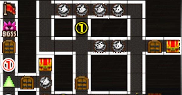 黒ウィズラビリンス2超高難度「3階」攻略&デッキ構成