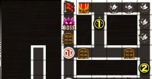 黒ウィズラビリンス2超高難度「6階」攻略&デッキ構成