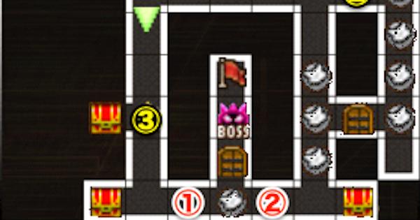 黒ウィズラビリンス2超高難度「7階」攻略&デッキ構成