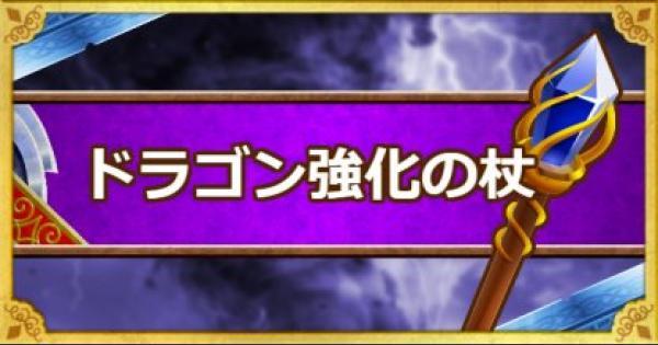 ドラゴン強化の杖(A)の入手方法と使い方・使い道!