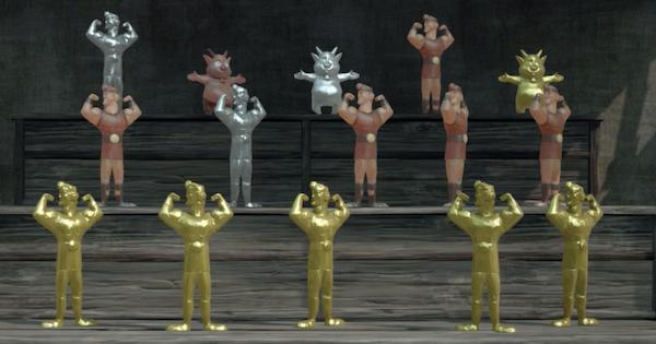 黄金のヘラクレス人形の簡単な集め方|オリンポス人形