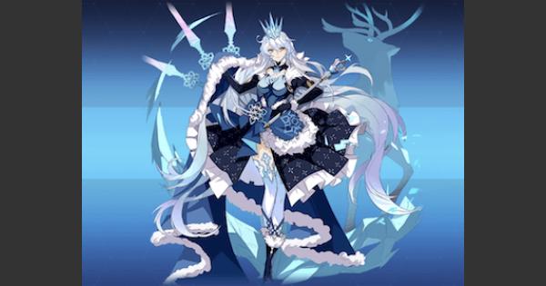 空の律者・氷の女王の評価と装備おすすめキャラ