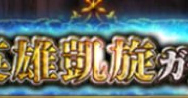 英雄凱旋祭ガチャシミュレーター【2019/2版】