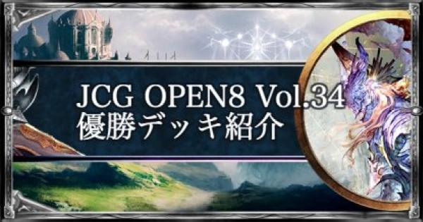 JCG OPEN8 Vol.34 ローテ大会優勝者デッキ紹介