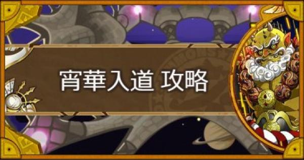 【神】花火打ち上げ場所(宵華入道)攻略のおすすめモンスター