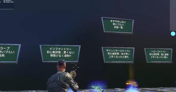 超初心者用!武器・アイテムの特徴丸分かりガイド!