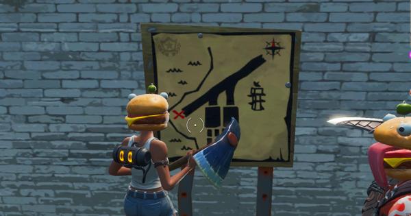 「パームズの宝の地図の標識をたどる」ウィーク8チャレンジ攻略