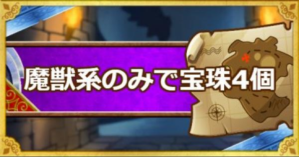 「呪われし魔宮」魔獣系のみで宝珠4個入手ミッション攻略法!