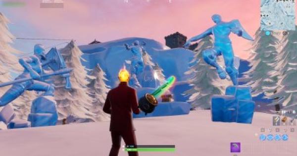 「3体の氷像の間で踊る」ウィーク9チャレンジ攻略