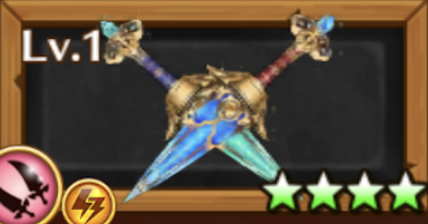 セツナモチーフ武器(双剣)/飛彩天恵の評価