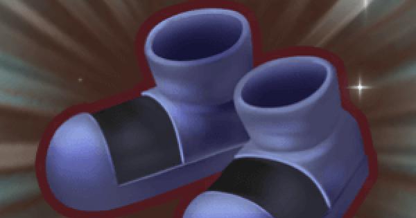 ブラックブーツの入手方法と強化素材