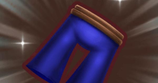 フォーマルズボンの入手方法と強化素材