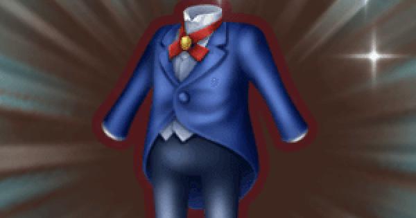 執事のスーツの入手方法と強化素材
