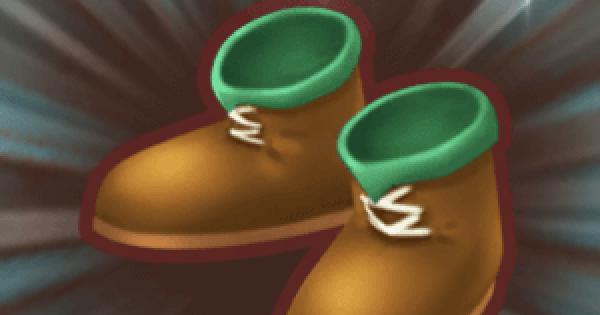 草原の剣士ブーツの入手方法と強化素材