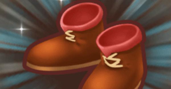 焔の剣士ブーツの入手方法と強化素材