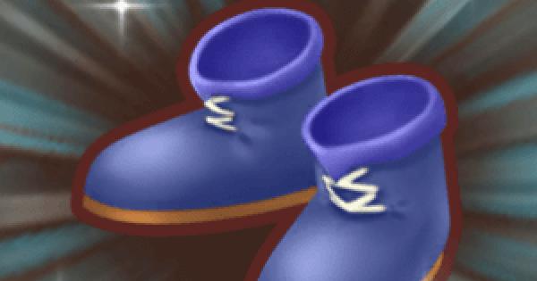 海の剣士ブーツの入手方法と強化素材