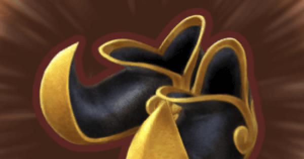 金月のブーツのステータス
