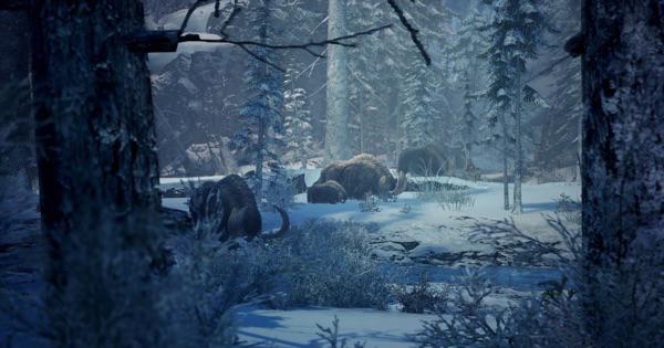 渡りの凍て地のマップとキャンプの場所 | 採取アイテム一覧