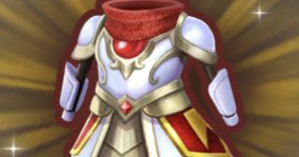 聖騎士のアーマーの入手方法と強化素材
