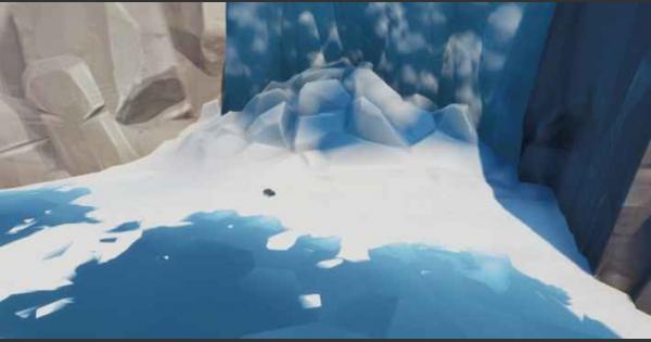 凍った滝にスプレー「サンバード」を使うとアクセスできる攻略