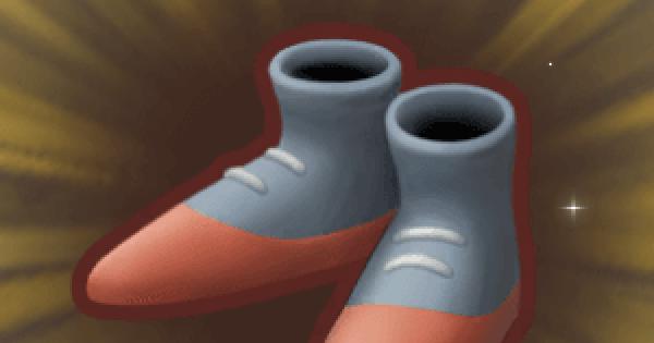 ラウラのブーツの入手方法と強化素材