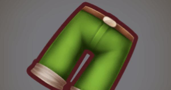 クルブルク織ズボンのレシピ情報