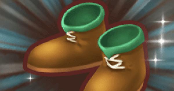 草原の剣士ブーツのレシピ情報