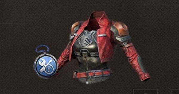 真紅の鎧の性能と製作材料