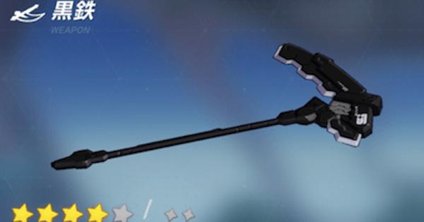 黒鉄の評価と装備おすすめキャラ
