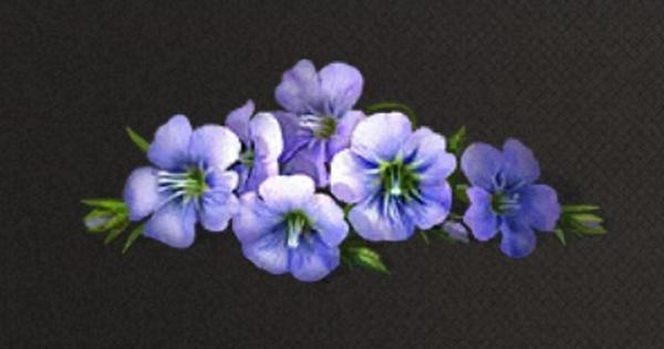 亜麻の花びらの入手方法と使い道