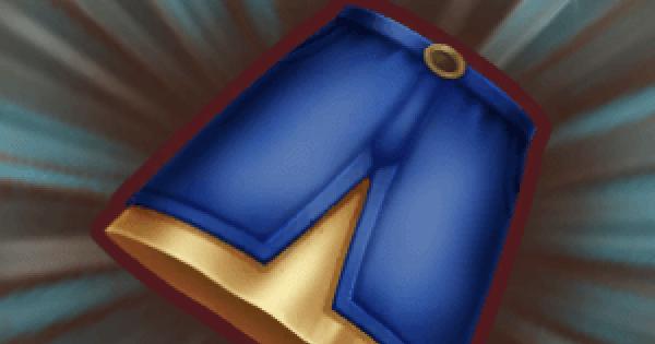 デニムロングスカートの入手方法と強化素材
