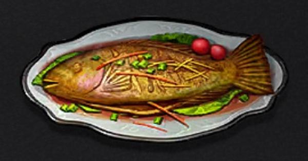焼き魚(ブダイ)の詳細情報