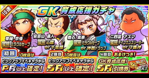 GK育成応援ガチャ[2019/8]シミュレーター